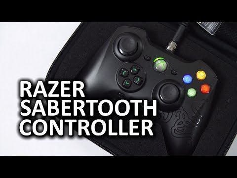 Razer Sabertooth Wired Xbox 360 and PC Controller klip izle