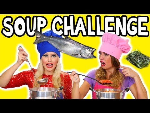 Soup Challenge with Weird Ingredients. Totally TV
