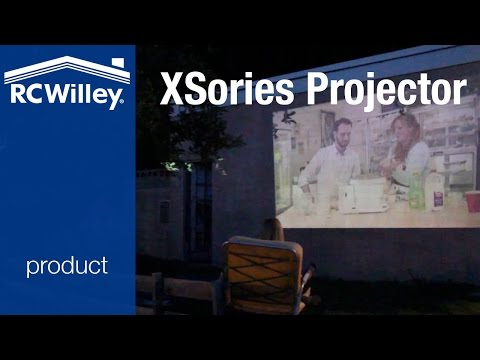 XSories mini projector and selfie stick review