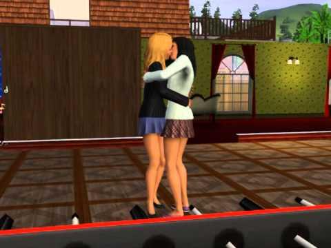 Sims 3 Lesbians Kissing 2