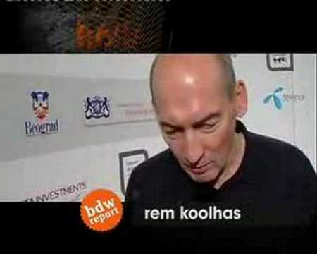 Rem Koolhaas/interview