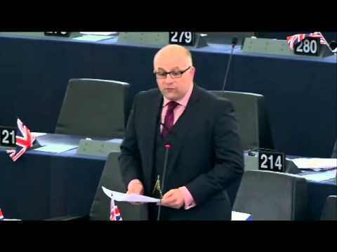 You're trying to extinguish your bonfire with gasoline - James Carver MEP @UKIP