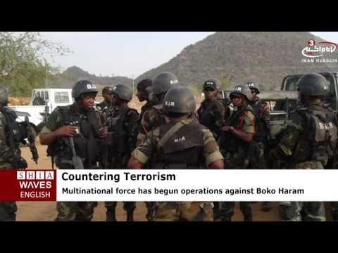 Multinational force conducting operations against Boko Haram .2016/06/23