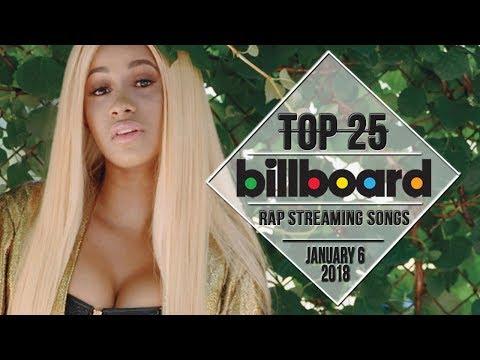 Top 25 • Billboard Rap Songs • January 6, 2018 | Streaming-Charts
