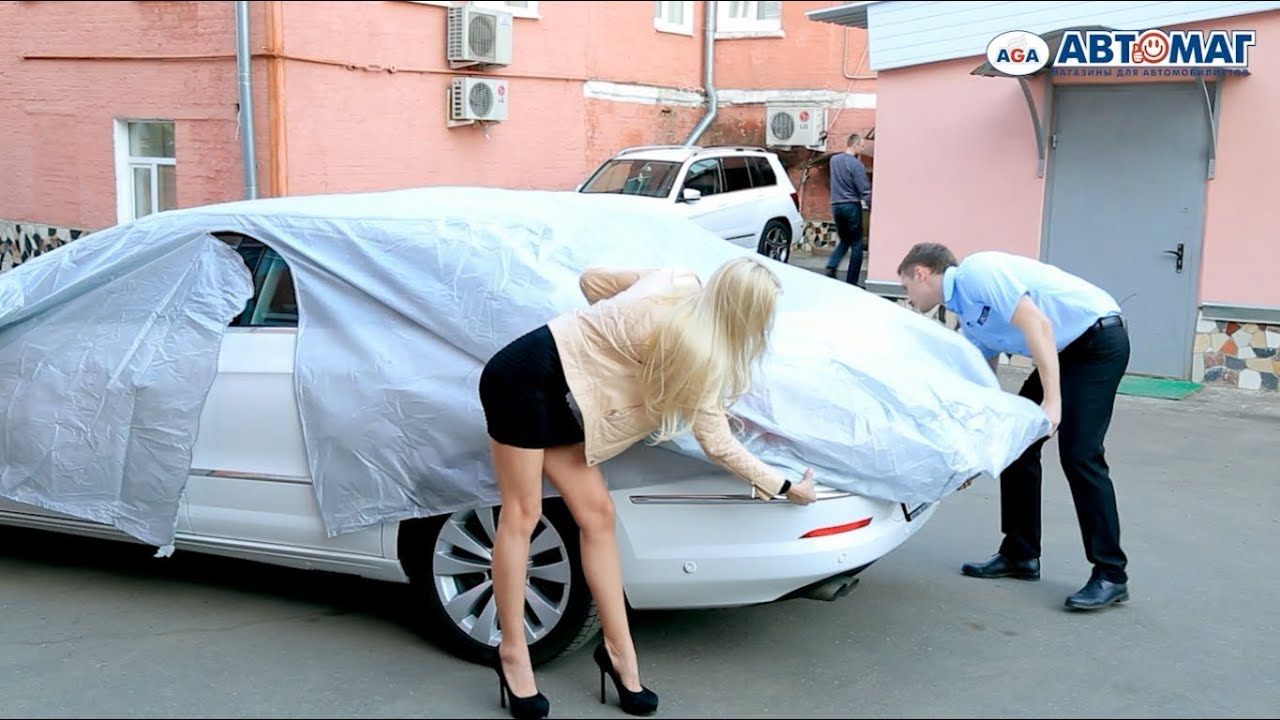 Как сшить защитный чехол на автомобиль 4