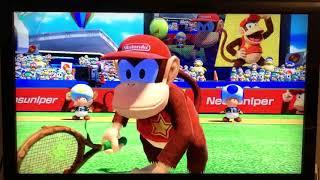 Mario Tennis Aces Part 6: mit Diddy Kong im Online Turnier und kleinen Extras (Ende)
