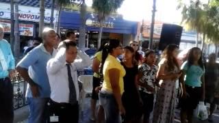 coral da igreja asembleia sede cba evangelismo na praça ipiranga alem da medicina