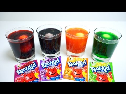 Coloring Easter Eggs With Kool Aid