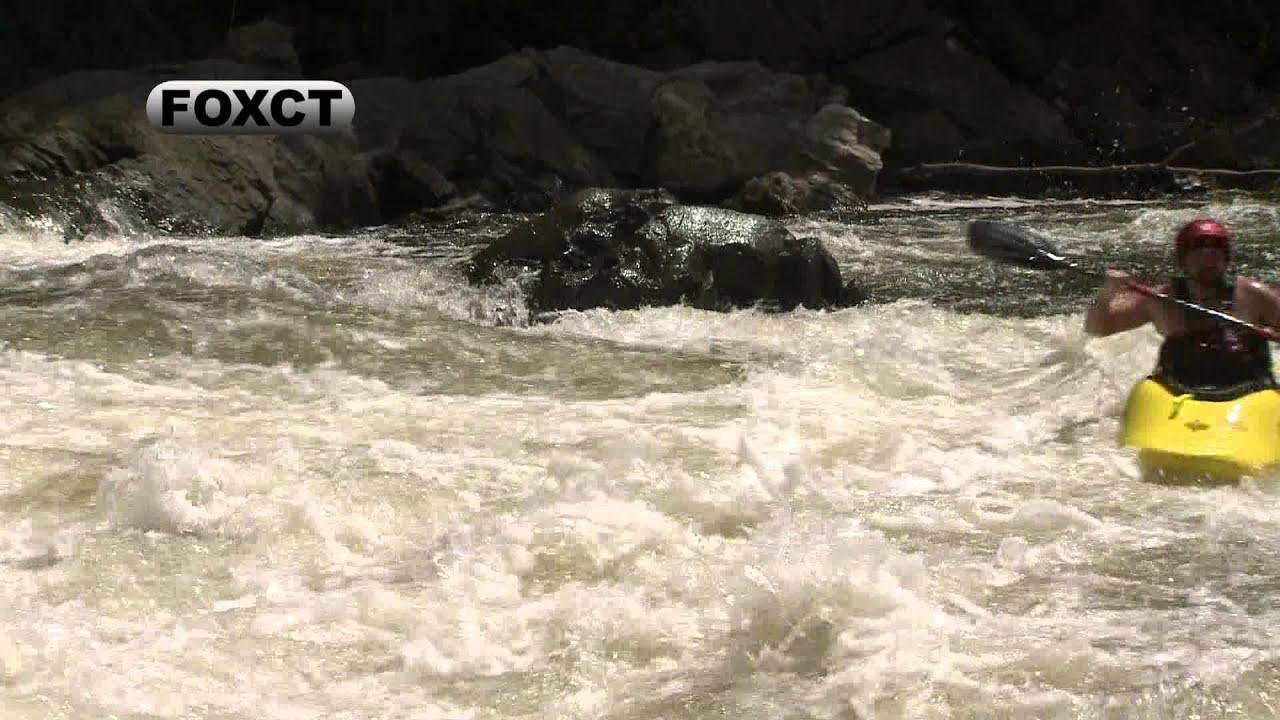 on The Housatonic River