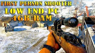 Top 10 Best FPS Games For Low End PC 2017
