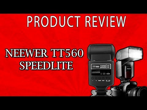 Product Review: Neewer TT560 Speedlite Flash Review