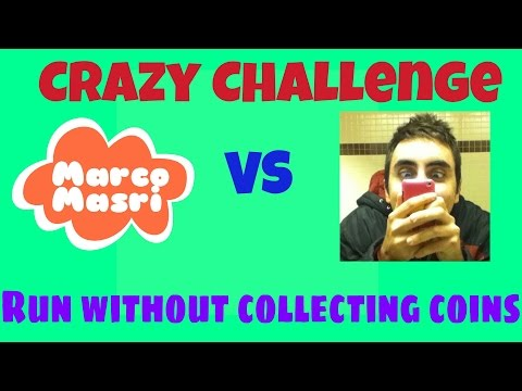 Subway Surfers CRAZY CHALLENGE: Run without Collecting Coins | Marco Masri vs KDM