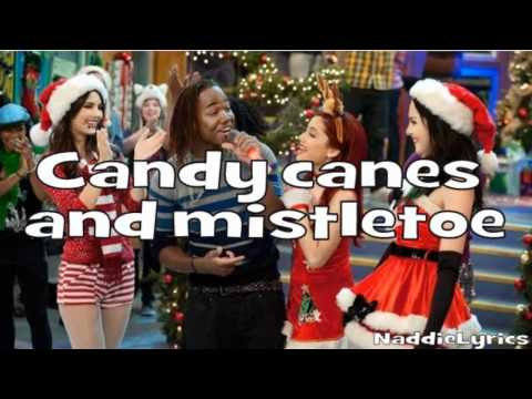 Victoria Justice Feat. Victorious Cast - It's Not Christmas Without You (lyrics) video