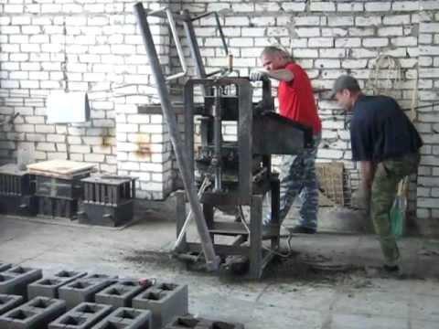 Производство керамзитобетонных блоков своими руками 40