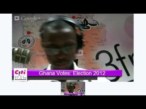 Ghana Votes: Citi FM coverage