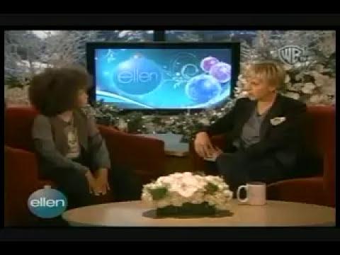 Jaden Smith on the Ellen Degeneres Show