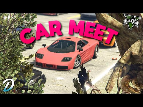 Any Car Meet Gta 5 Online LIVE - [Road To 4.3K Subs] - Check The Description For Join