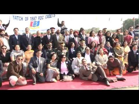 NCC RDC 1987 SILVER JUBILEE CELEBRATION 28 JAN-2012 CLIP BY S AKASH EX CADET RDC-1987