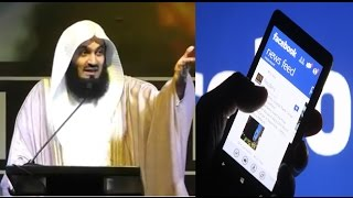 Mobile Phone & Facebook good thing or bad thing? |Funny| By Mufti Menk