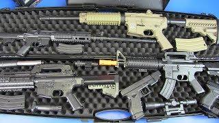 Airsoft War Plastic Gun Toys VS Metal Airsoft Guns - Box of Toys