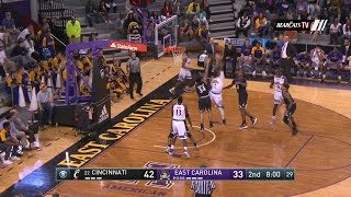 Men's Basketball Highlights: Cincinnati 55, ECU 46 (Courtesy CBS Sports Network)