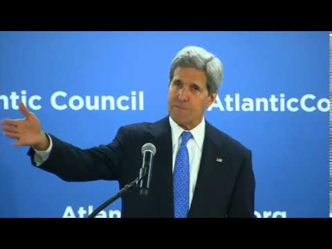 Secretary Kerry Delivers Remarks at a Atlantic Council Conference