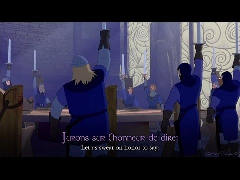 Paroles Les Chevaliers De La Table Ronde Excalibure L 39 P E Magique