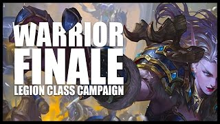 World of Warcraft: Legion - Warrior Quests - Part 4  - Finale