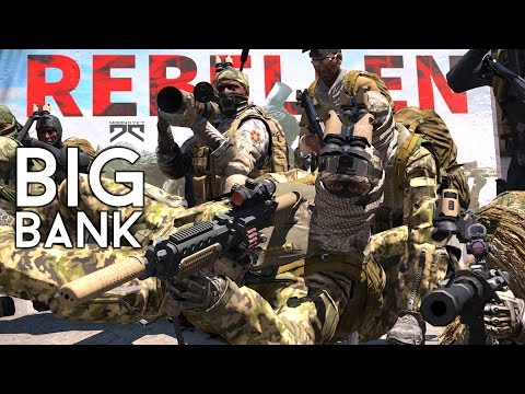 » BIG BANK « - Überfall auf die Zentralbank, in Altis Life - #51 - [Deutsch] [4K :) ]