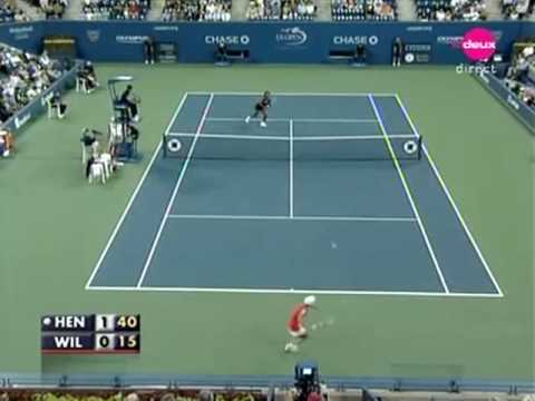 Justine Henin vs Serena Williams QF 2007 2/11