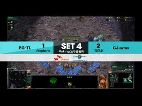 SPL [01.12] Stephano(EG-TL) vs Hero[join](CJ) 4SET / WCS Cloud Kingdom LE - Starcraft 2, eSportstv