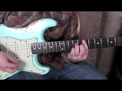 Pt. 2 Guitar Lessons - Soloing - Scales Modes - Jerry Garcia Style Guitar Lesson Fender Strat
