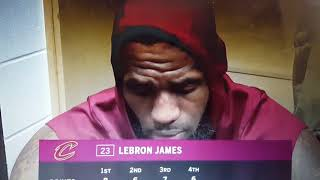 LeBron James speak on loss to pacers