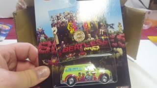 Hot Wheels Pop Culture Case Unboxing Beatles Cars