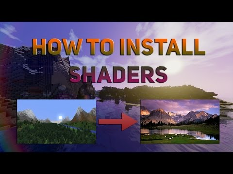 How to Install Minecraft Shaders | 1.7.10/1.8