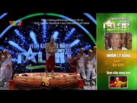 Vietnam's Got Talent 2012 - Bán Kết 4 - Nhóm Lý Bằng - MS: 7