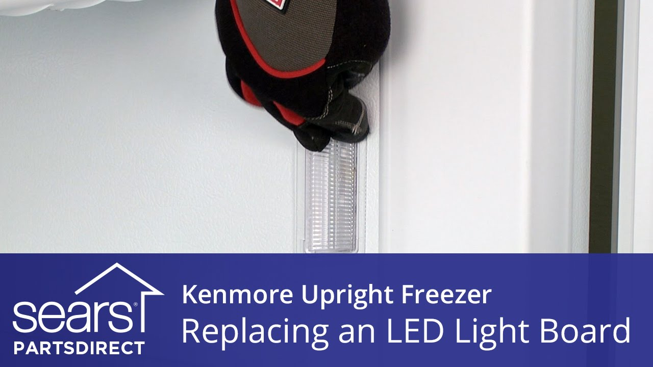 How to Replace a Kenmore Freezer Light Bulb