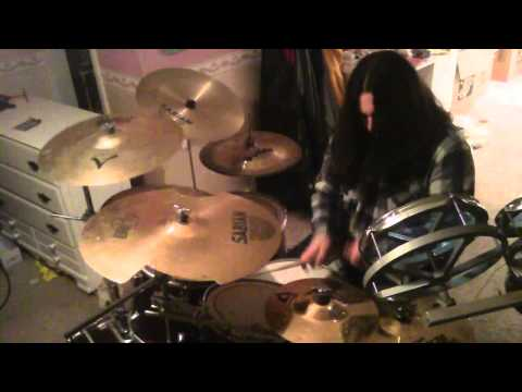 Death - Crystal Mountian drums (Chuck Schuldiner tribute) (HD)