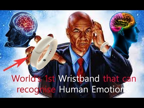 World's 1st Wristband that can recognise Human Emotions. | Best gadget in the world