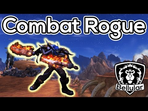 WoD Combat Rogue Impressions & Gameplay (So Good!) - Warlords of Draenor Beta