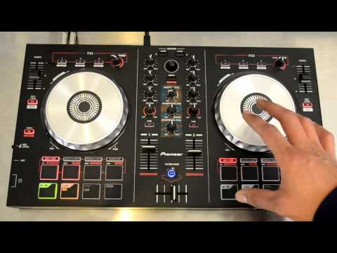 Pioneer DDJ-SB Serato Intro Digital DJ Controller Review Video