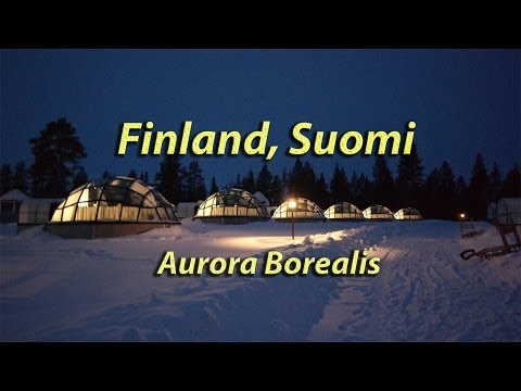 Finland, Suomi, Northern Lights, Aurora Borealis