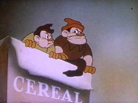 Breakfast Pals- 1939 Hilarious Rice Krispies Snap Crackle Pop Commercial
