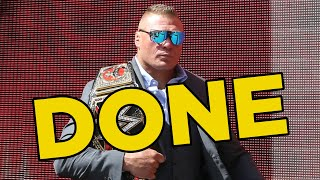 Brock Lesnar Done For 2019, Doubts Over Future Of 2 WWE Stars