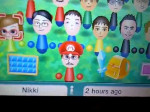 Nintendo 3DS - Swapnote's Nikki Joins Streetpass Mii Plaza via Spotpass