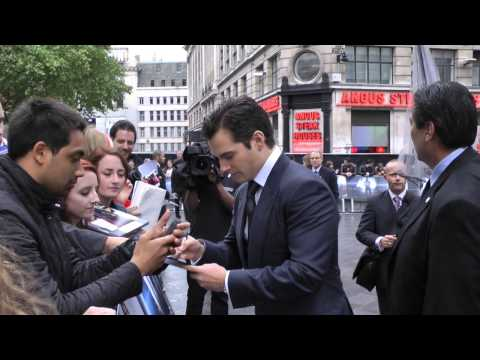 MAN OF STEEL - SUPERMAN EUROPEAN MOVIE PREMIERE LONDON 12TH JUNE 2013