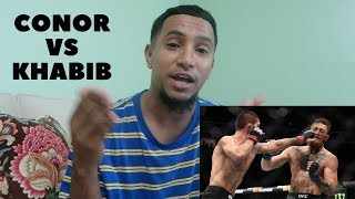 Conor McGregor vs Khabib Nurmagomedov HIGHLIGHTS (REACTION!)