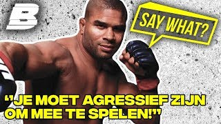 ALISTAIR OVERHEEM: MET AGRESSIE KOM JE ER NIET! | SAY WHAT? - Concentrate BOLD