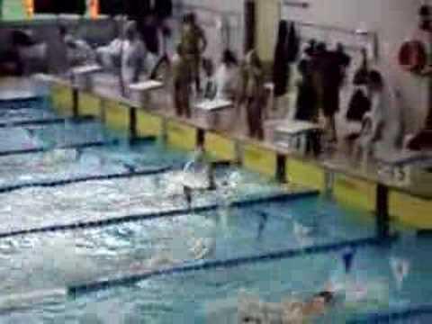 Silvia Rocca swimming