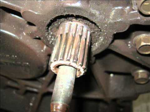 Gear Shaft Design >> BMW Service - R1150RT Shaft Failure Part 2 - YouTube